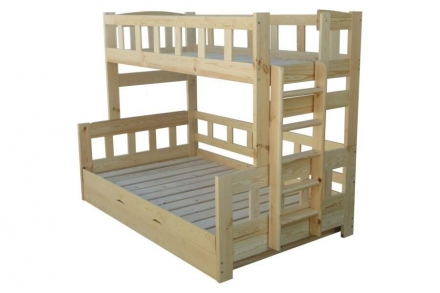 Двухъярусная кроватка Ника 4