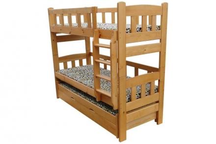 Двухъярусная кроватка Ника 6