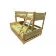 Двухъярусная кроватка Ника 2