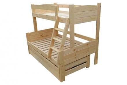Двухъярусная кроватка Ника 3