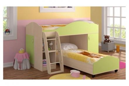 Кровать-чердак Дюймовочка 2