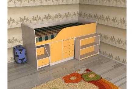 Кровать-чердак Кузя 2