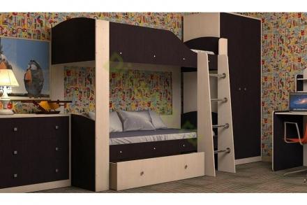 Двухъярусная кровать Барон 2