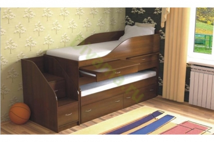 Кровать-чердак Дуэт