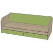 Кровать с ящиками Киви