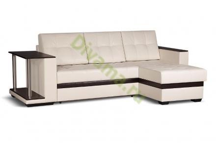 Угловой диван Адамс со столиком